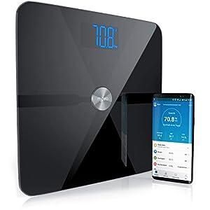 Mybeo – Bluetooth Bascula Grasa Corporal con App – iOS y Android – Determinación del IMC índice de masa corporal grasa…
