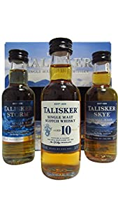 Talisker Whisky Miniature Giftset 5 cl (Case of 3) by Diageo GB