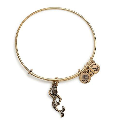 Alex _ & Ani Meerjungfrau Charme Armreif rafaelian Gold Finish Armbands, a11eb110rg (Gold Alex Und Ani Armreifen)