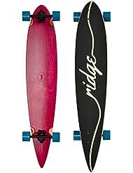 Ridge Longboard Estantería Series Laser Cut Pin Tail rosa Rosa/Blau Talla:extra-large