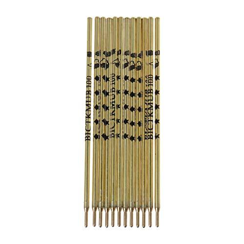 12 Stück/Box Goldstab Kleidung Leder Spezial Quecksilber Stift Silber Nachfüllmarker Stift