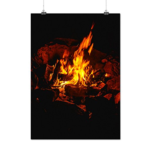 burning-fire-place-warm-house-matte-glossy-poster-a2-60cm-x-42cm-wellcoda