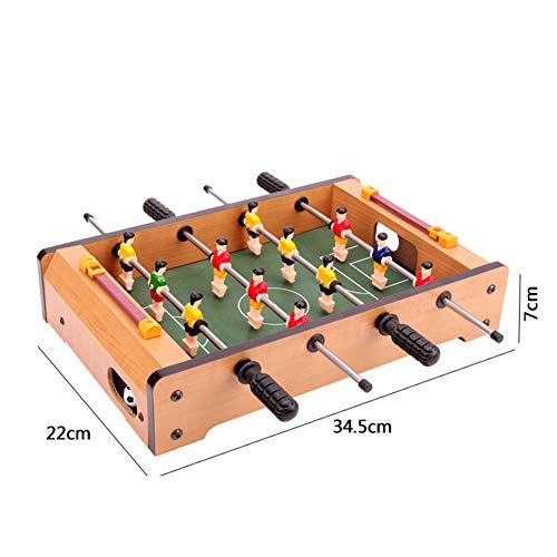 WHOME Tischfußball foosballs Steady Combo Game Table Mini Tischfußball Game Table Kinderspielzeug Unterhaltung Geschenke für die Familie