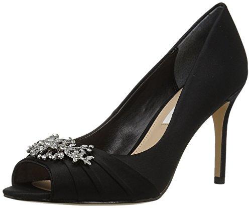 Nina Peep Toe Pumps (Nina Damen Rumina, Ls-Black, 35.5 M EU)