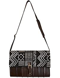 Mkoba Wa Mjumbe Bag Of The Messenger Messenger Black & White By Kauli