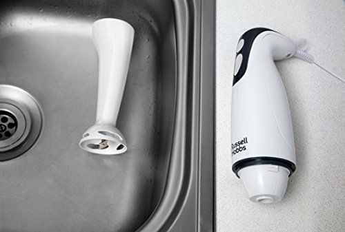 Russell Hobbs Food Collection Hand Blender 22241, 200 W – White