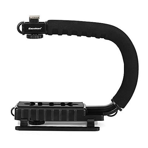 Oxford Street Stabilisateur professionnel pour appareil photo reflex numérique /camescope Poignée à grip Noir