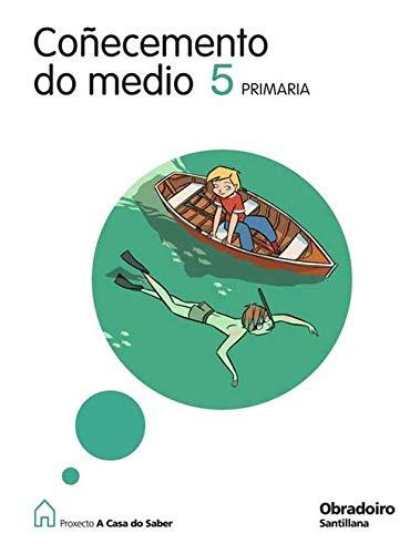 Coñecemento do medio 5 primaría a casa do saber gallego obradoiro (la casa del saber)