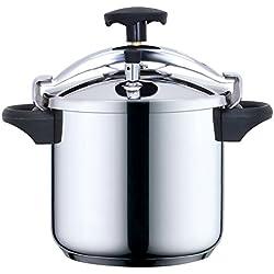Kitchen Move CSB24-8L Autocuiseur Etrier Cuve Inox/Noir 8 L Diamètre 24 cm