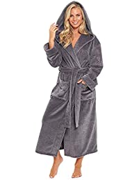 Amazoncouk Grey Dressing Gowns Nightwear Clothing