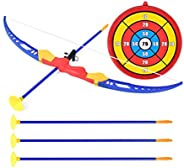 1 Set Archery Toys Bright Color Odorless Target Tube Arrows Archery Game Quiver for Teenagers Beginner Childre