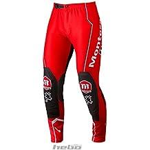 HEBO HE3162RL Trial Montesa Classic II Pantalon, Rojo, Talla L