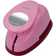 Efco–Perforadora de círculo, rosa, 50mm