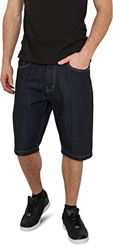 Urban Classics Loose fit Jeans Shorts TB378, Farbe:blue raw;Weite:W31 (Kleidung Raw Blue)