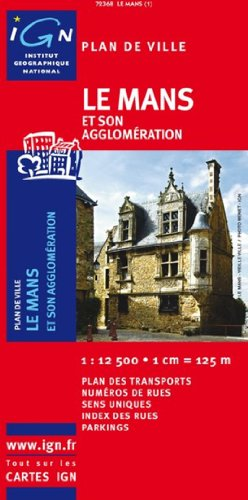 Mans le (r) (Ign Map) par Institut Geographique National