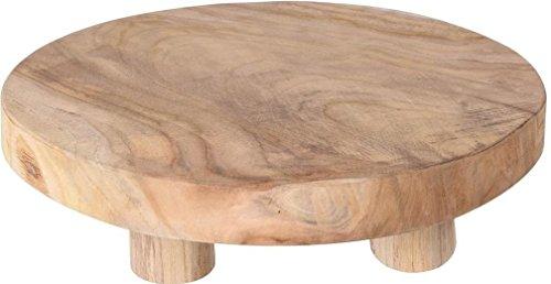 Teak-Tisch mini Teakholz Holz-Tischchen Blumenständer Etagere Pflanzenhocker 30cm -