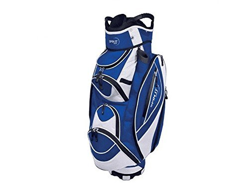 Spin It Golf Products Easy Play Golf Cart Bag, Blue by Spin It Golf Products, LLC