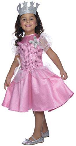 Glinda Oz Of Wizard Kostüm - The Wizard of Oz Glinda Sequin Dress Costume Child Small