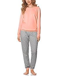Merry Style Pijamas Ropa de Dormir Verano Pijama Pantalones y Camisetas Mujer MS10-168