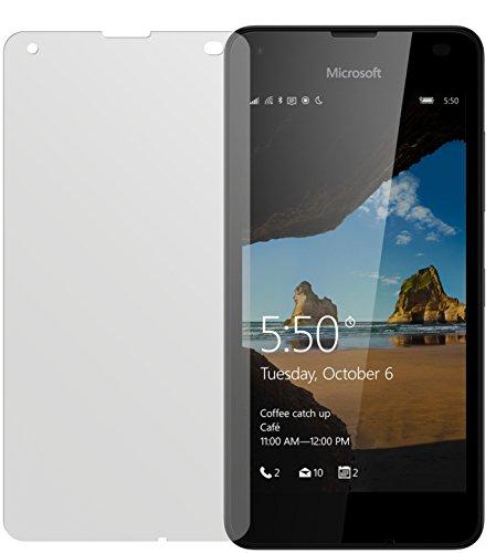 dipos I 2X Schutzfolie matt passend für Microsoft Lumia 550 Folie Bildschirmschutzfolie