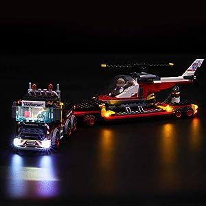 LIGHTAILING Set di Luci per (City Trasportatore Carichi Pesanti) Modello da Costruire - Kit Luce LED Compatibile con… LEGO