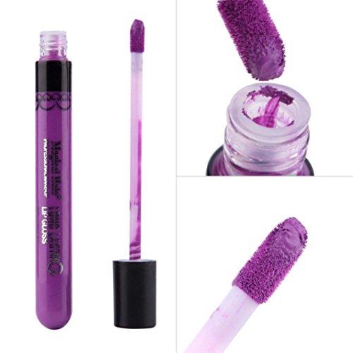Boyasing Lip Gloss Rouge à Lèvres Mat Velours Imperméable à L'eau Super Longue Ne Durée Pas Fade