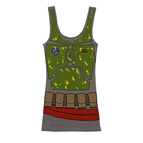 Star Wars I am Boba Fett Disfraz Vestido de Tanque | XL
