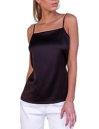 AEETE - Camiseta sin mangas - Escotado por detrás - Básico ...