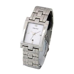 Oskar Emil – Reloj de Caballero de Cuarzo, Correa de Acero Inoxidable Color Plata