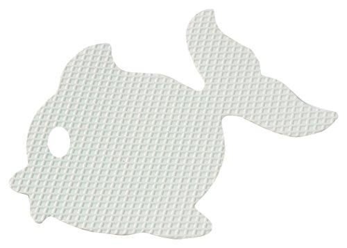 Brinox antidérapant baignoire Motif poissons, voir description, blanc, 10.2 x 8.6 x 0.1 cm