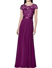 Victory Bridal Glamour Spitze Brautmutter Abendkleider Ballkleider fuer  Hochzeits Lang Etui 2b5a61c99b