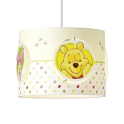Pendelleuchte Brilliant Disneys Winnie the Pooh Ø25 cm aus Kunststoff in weiß/gelb von Brilliant auf Lampenhans.de