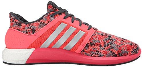 Adidas Performance Solar-Rnr Laufschuh, schwarz / silber / blau, 5 M Us Grey/Metallic Silver/Grey