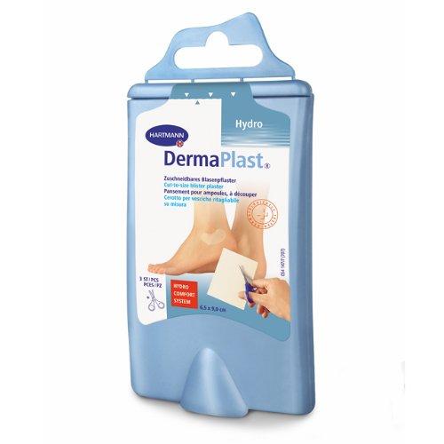 DermaPlast Cut-to-size zuschneidbares Blasenpflaster inkl. Schere (Feuchten Lippen Behandlung)