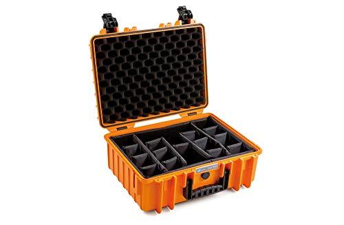 B&W outdoor.cases Typ 5000 mit variabler Facheinteilung (RPD) - Das Original
