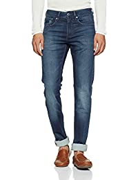 Superdry Men's Tapered Jeans (M70001JQF4_Deep Blue_30W x 34L)