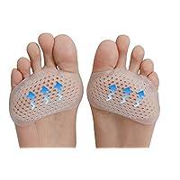 Niceful-Ball der Fußkissen Metatarsale Pads-1Paare Vorfuß-Kissen-Waben Atmungsaktive Silikagel Fuß Pad-Pain Relief... preisvergleich bei billige-tabletten.eu