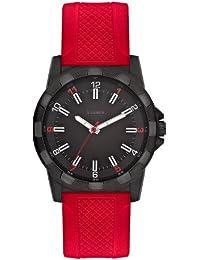 s.Oliver Herren-Armbanduhr XL Analog mit angesagtem Kunststoffband SO-2369-PQ