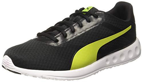 PUMA Men's Convex Pro IDP Black-Limepunch Running Shoes-9 UK/India (43 EU) (4060979815896)