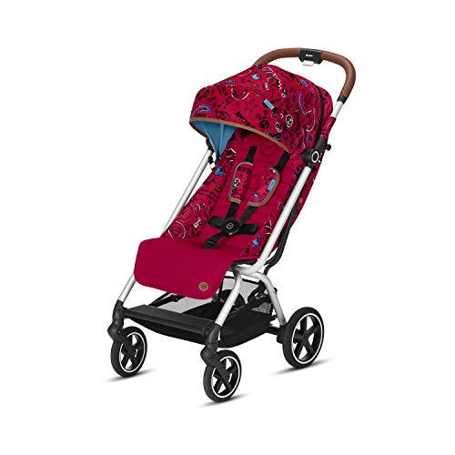 CYBEX Gold Eezy S+ Silla de paseo, Plegable con una mano, Ultraligera, Desde el nacimiento hasta 17 kg (aproximativamente 4 años), Love