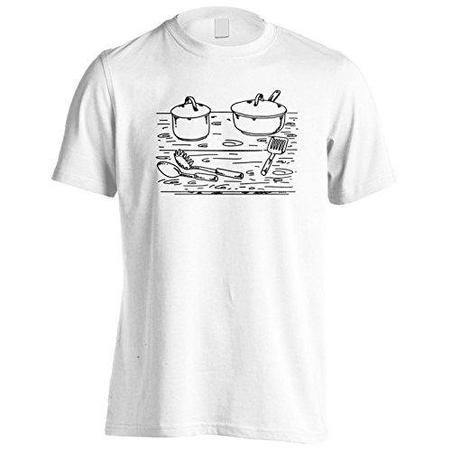 Küchenelemente Herren T-Shirt r123m