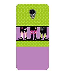 Meizu M2 black long shoes, green circle, purple pattern Designer Printed High Quality Smooth hard plastic Protective Mobile Case Back Pouch Cover by Paresha