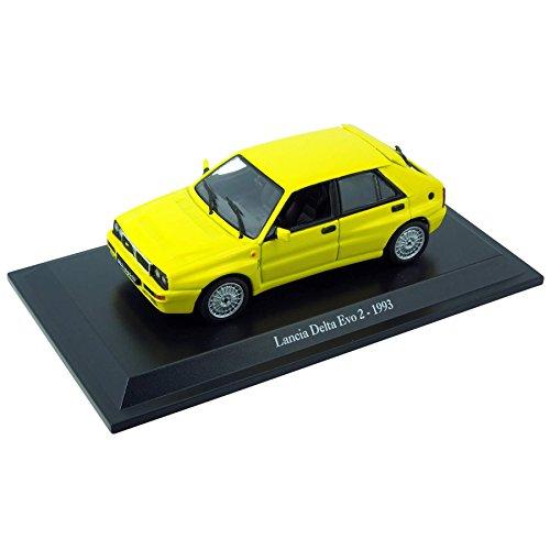 voiture-miniature-lancia-delta-evo-2-1993-143-jaune