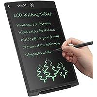 LCD Writing Tablet 12 Zoll CHAOCHI Schreibplatte Digital Schreibtafel Papierlos Grafiktablet Schreiben Tabletten für Kinder Schule Graffiti Malen Notizen Ein Guter Helfer in Arbeit Familie (Schwarz)