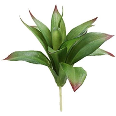 Planta Floral Follaje Agave Artificial Suculenta Montón Decoración Hogar Oficina