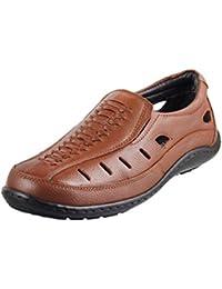 Mochi Men Leather Sandals 18-598