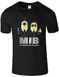 Minions In Black Lustige Top Parodie Männer Geschenk T Shirt