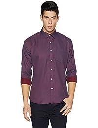 Amazon Brand - Symbol Men's Slim Fit Formal Shirt