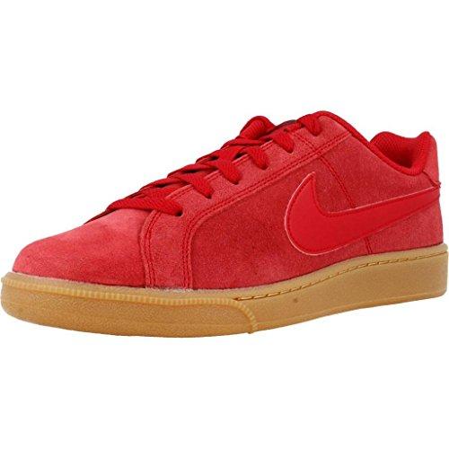 Nike Court Royale Suede, Chaussures de Gymnastique Homme Rouge