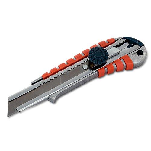 Alu Cuttermesser 18 mm mit Feststellrad